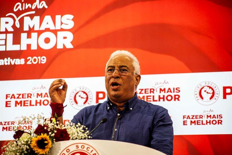 PS apresenta queixa-crime por difamação contra homem que abordou Costa
