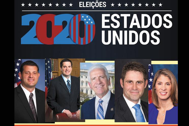 Há candidatos lusodescendentes nas eleições norte-americanas em pelo menos 10 estados