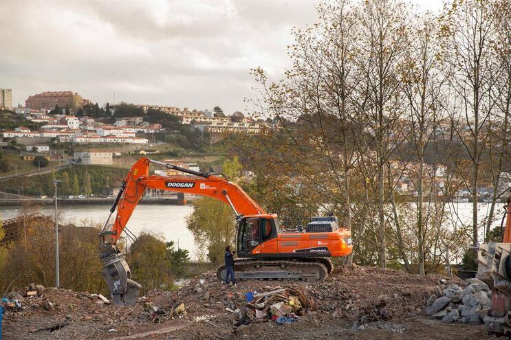 Aleixo já não tem torres mas terrenos limpos sobre o rio