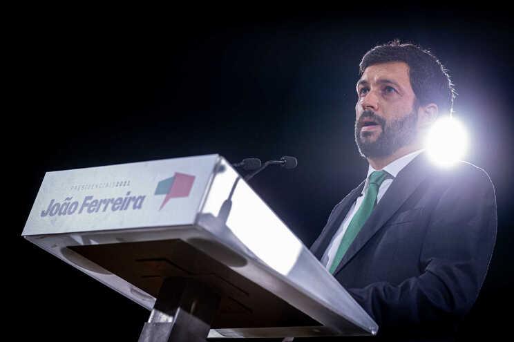 João Ferreira, candidato do PCP às eleições presidenciais