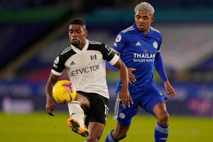Ivan Cavaleiro marcou o segundo golo do Fulham ao Leicester