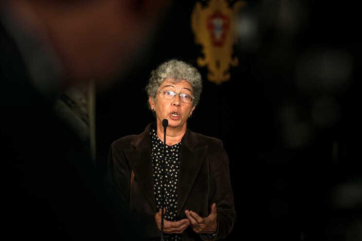 Isabel Camarinha, secretária-geral da CGTP