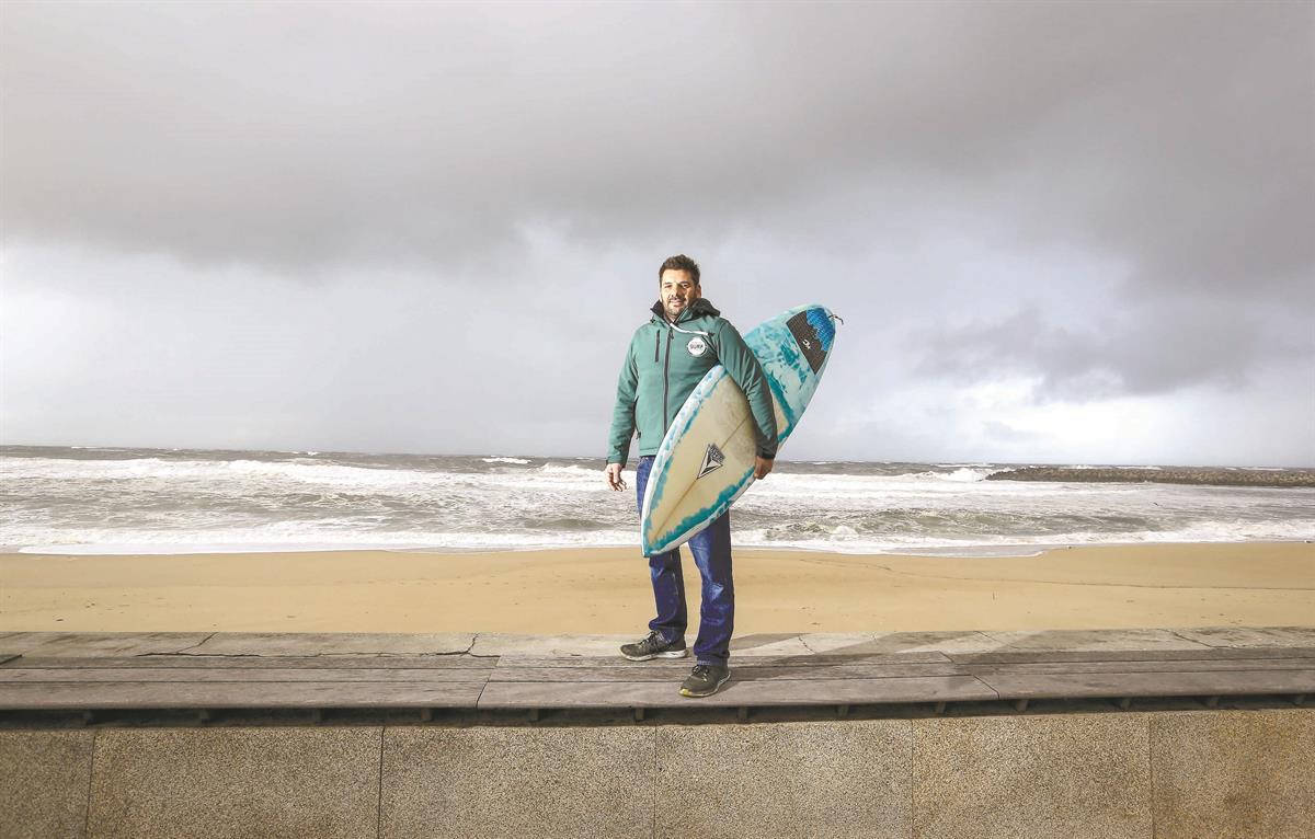 Gonçalo Pina, responsável pelo Espinho Surf Destination 2018