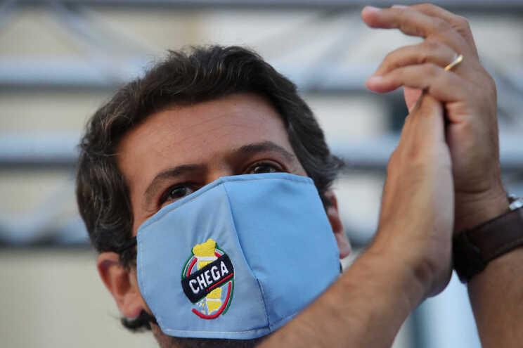 André Ventura, deputado único do Chega