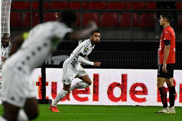Rennes perdeu em casa com o Angers