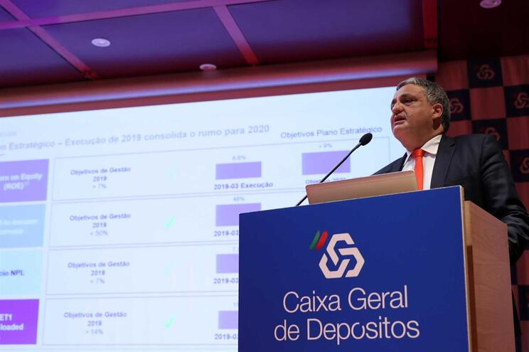 O presidente executivo da Caixa Geral de Depósitos (CGD), Paulo Macedo