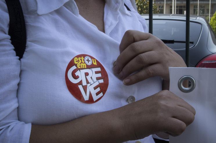 Trabalhadores da saúde em greve