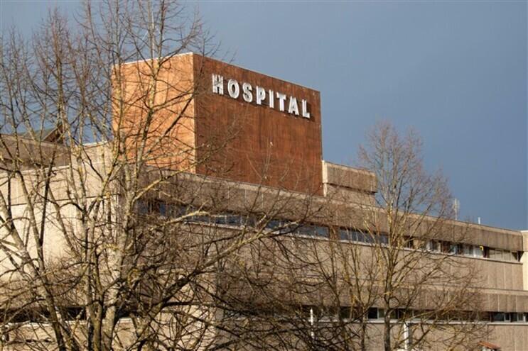 O idoso foi transportado para o Hospital de Chaves