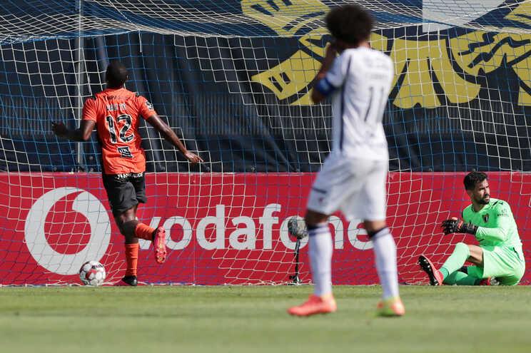Ricardo Vaz Tê marcou o golo do Portimonense na vitória sobre o Famalicão