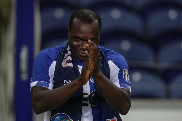 Vincent Aboubakar deixou o F. C. Porto