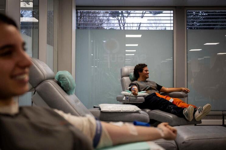 Colheitas de sangue diminuíram 27% na última semana