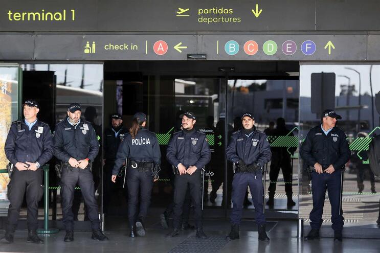 PSP e da GNR realizam protestos em simultâneo em Braga, Lisboa e Faro
