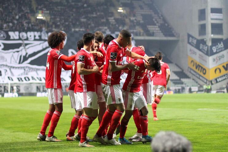Benfica defronta Zenit com o mesmo onze que ganhou ao Boavista