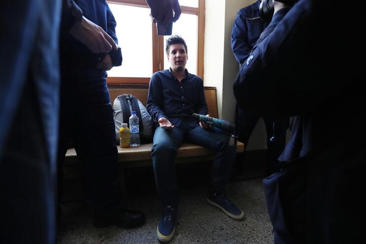 Rui Pinto estava em prisão preventiva na cadeia anexa à PJ de Lisboa desde 22 de março de 2019. Agora