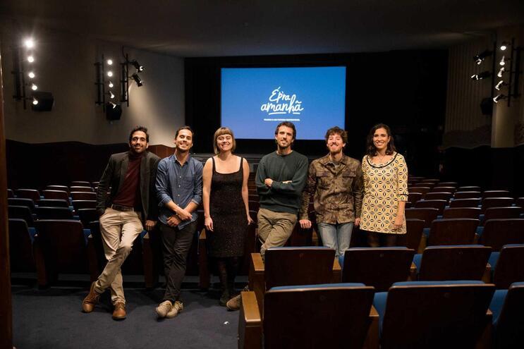 Pedro Serra, Edgar Rodrigues, Teresa Carvalheiro, Luís Costa, Francesco Rocca e Verónica Silva
