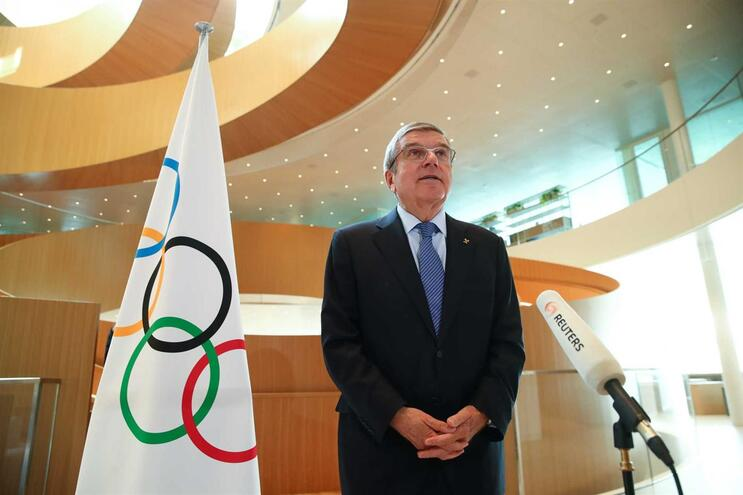 Thomas Bach, presidente do Comité Olímpico Internacional