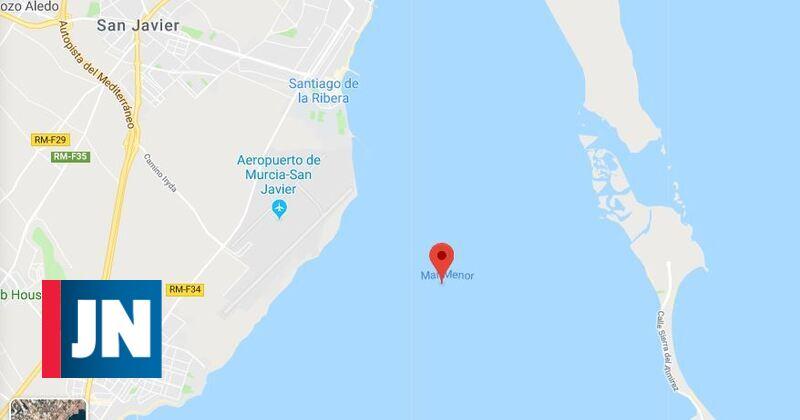Avião da Força Aérea espanhola cai no Mar Menor ao largo de Múrcia