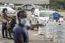 Local de testes à covid-19 na Florida, o estado norte-americano mais afetado pela pandemia