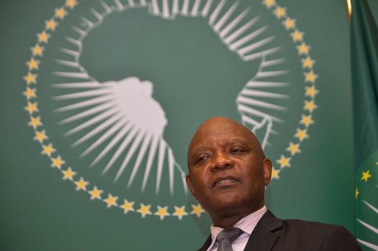 O diretor do Centro de Controlo e Prevenção de Doenças da União Africana (África CDC), John Nkengasong