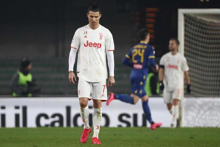 Cristiano é o melhor marcador da Juventus com 23 golos