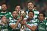 O Sporting venceu a Taça da Liga este sábado