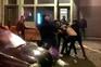 Confrontos entre adeptos dos Wolves e do Standard Liège no Porto