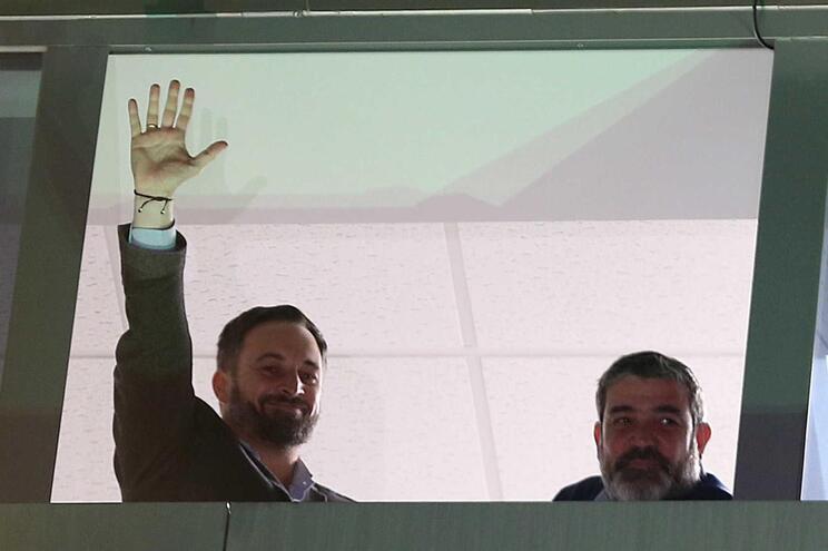 """Presidente do Vox destaca """"façanha política fulgurante"""" do partido"""