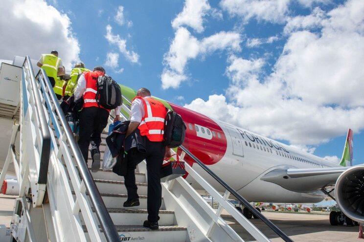 """Companhias aéreas que, tal como a TAP, operam voos de longo curso, foram """"as principais afetadas"""" pela"""