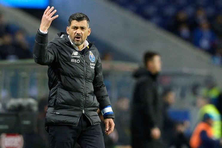 Sérgio Conceição ficou satisfeito com a vitória