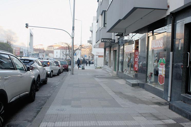 Avenida Sá Carneiro, em Bragança