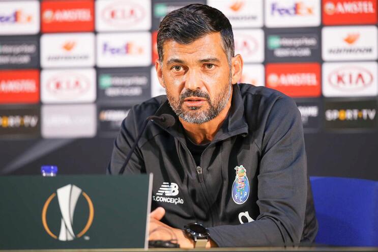 """Sérgio Conceição: """"O que conta é a inspiração e a transpiração dos jogadores"""""""