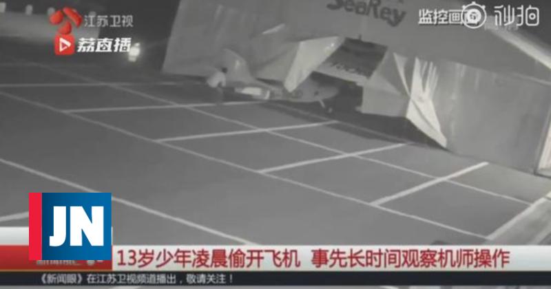 """Aeroporto oferece lições de voo a menino que pilotou dois aviões """"às escondidas"""""""