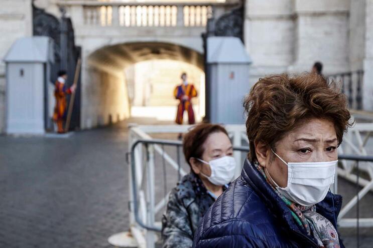 Itália é um dos países com mais casos confirmados de coronavírus