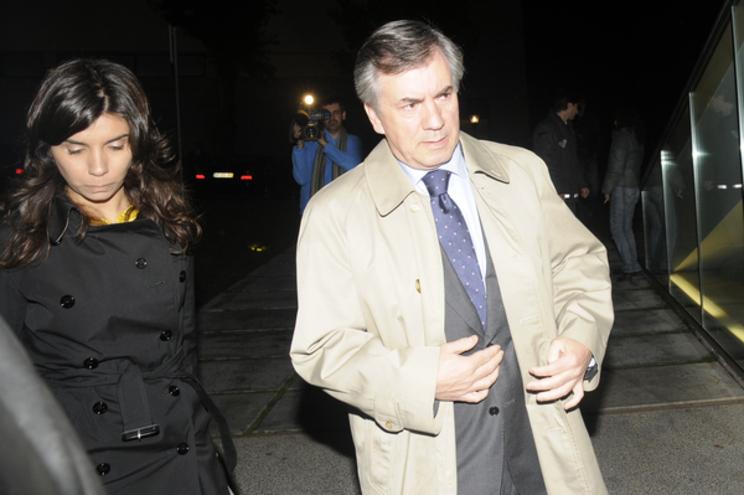 Bárbara Vara com o pai, Armando Vara, em 2009