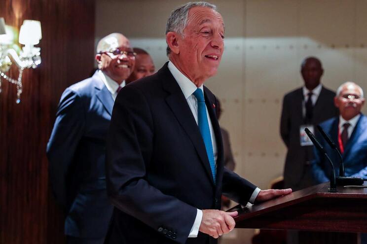 Marcelo Rebelo de Sousa em visita oficial a Angola