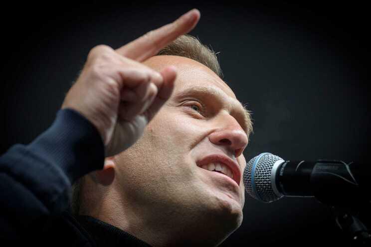O líder da oposição russa Alexei Navalny