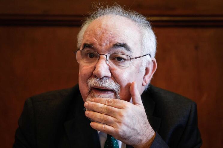 O ministro do Trabalho, Solidariedade e Segurança Social, Vieira da Silva