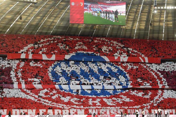 Bayern de Munique treina online
