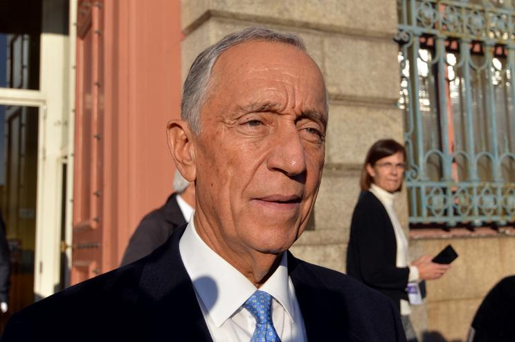 Presidente Marcelo Rebelo de Sousa