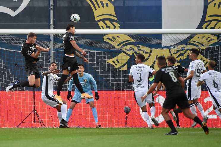 Famalicão perdeu frente ao Benfica