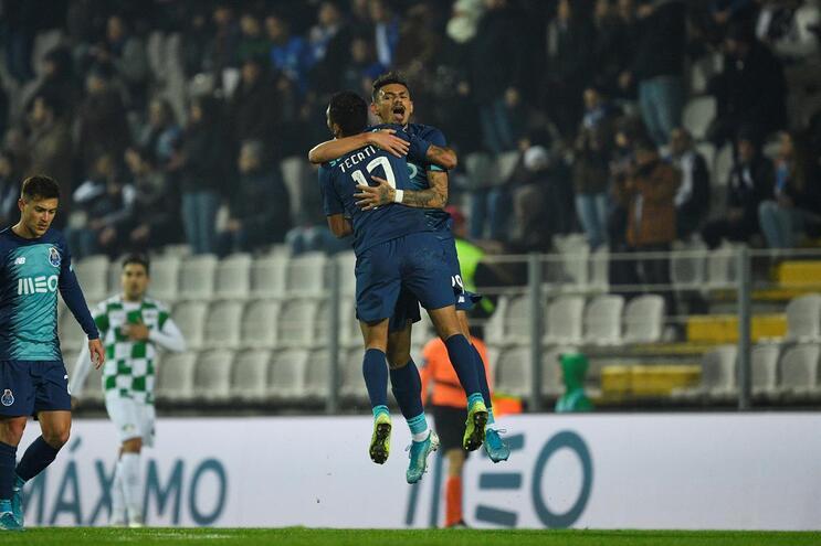 F. C. Porto jogou em Moreira de Cónegos em janeiro