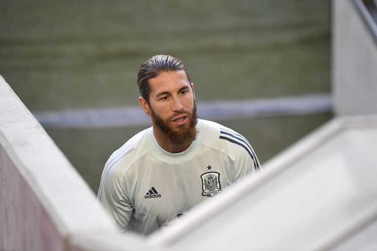 Sérgio Ramos, capitão do Real Madrid