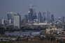 Vista de Londres em fotografia tirada do Parque Greenwich