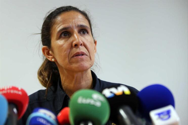 Patrícia Gaspar tornou-se conhecida pelas conferências de imprensa durante os fogos que afetaram o país