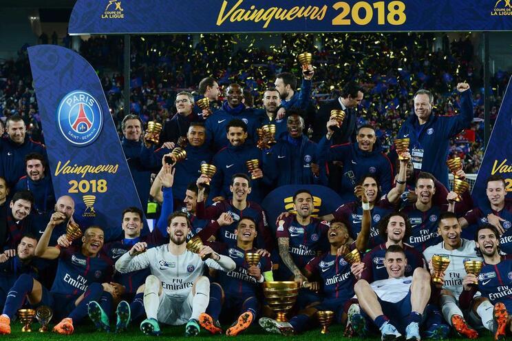 Paris Saint-Germain campeão de França pela quinta vez em seis anos