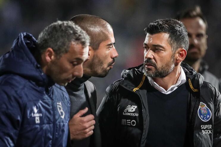 Sérgio Conceição explica caso do Jamor