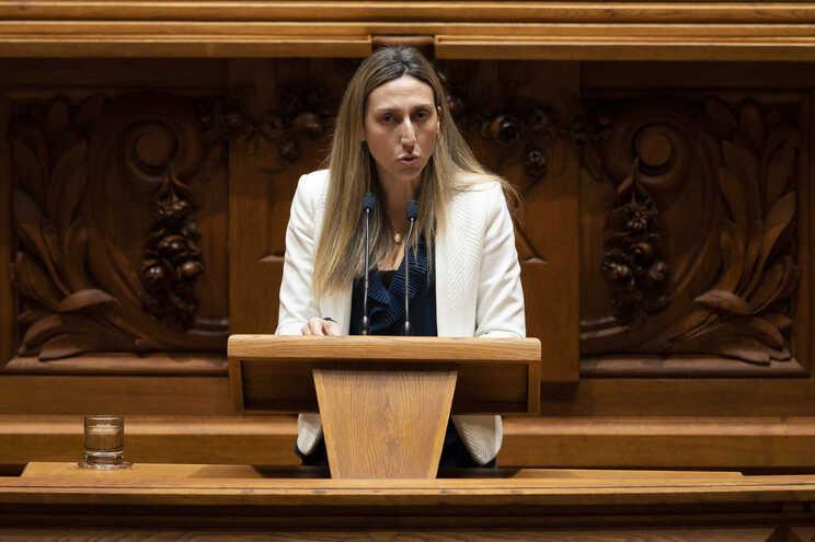 A deputada não inscrita Cristina Rodrigues