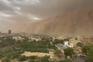 Tempestade de areia engole a capital do Níger