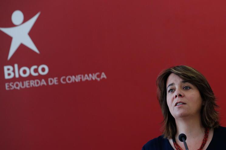 Dirigente do Bloco de Esquerda, Catarina Martins