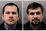 Alexander Petrov e Ruslan Boshirov estão acusados do envenenamento do ex-expião russo Sergei Skripal